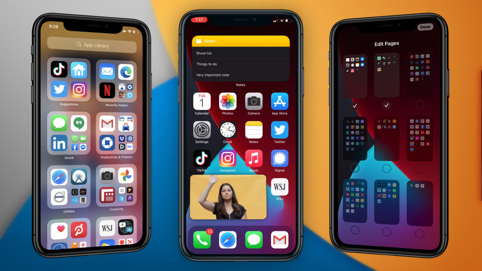Actualizacion iOS 14 smartphones Apple